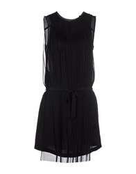 Blk Dnm Dresses Short Dresses Women Black