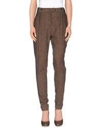 Gold Case Sogno Trousers Casual Trousers Women Cocoa