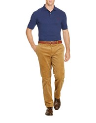 Polo Big And Tall Ribbed Cotton Pullover Blue