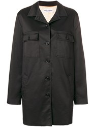 Dolce And Gabbana Vintage Single Breasted Coat Black