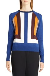 Marni Women's Colorblock Silk Blend Sweater