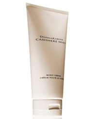 Receive A Complimentary Body Creme With Large Spray Purchase From The Donna Karan Cashmere Mist Fragrance Collection