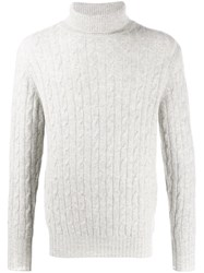 N.Peal 007 Cable Roll Neck Sweater 60