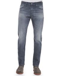 Ag Jeans Nomad Sulfur Slim Fit Jeans Dark Gray