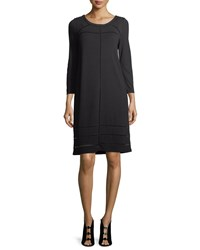 Nic Zoe Everyday Ponte Dress Black Onyx