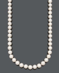 Belle De Mer Pearl Necklace 36' 14K Gold A Cultured Freshwater Pearl Strand 11 13Mm