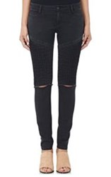 Each X Other Slim Moto Jeans Black