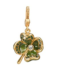 Dhanya' Four Leaf Clover Charm Jay Strongwater Green