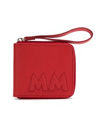 Mara Mac Leather Cardholder Red