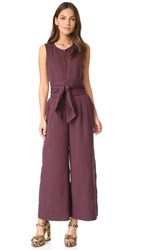 Ulla Johnson Cunningham Jumpsuit Bordeaux