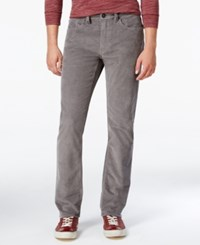 O'neill Men's Straight Fit Corduroy Pants Grey