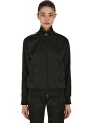 Chiara Ferragni Eye Side Band Track Jacket Black