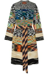 Missoni Belted Chunky Knit Cardigan Black