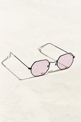 Urban Outfitters Metal Octagon Sunglasses Violet