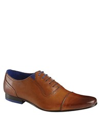 Ted Baker Rogrr Leather Oxfords Tan
