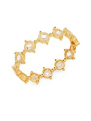 Freida Rothman Crown 14K Gold Plated Bracelet