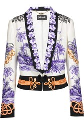 Just Cavalli Printed Cady Blazer Multi