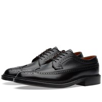 Alden Long Wing Blucher Black