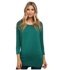 Culture Phit Lara Modal Top Emerald Women's T Shirt Green