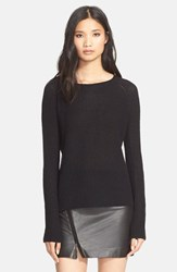 Women's Zadig And Voltaire 'Jane' Ribbed Cashmere Sweater