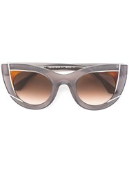 Thierry Lasry 'Wavvy' Sunglasses Grey