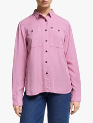 Lee Feminine Worker Shirt Dusky Violet