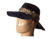 Michael Stars Birds Of A Feather Wide Brim Nocturnal Caps Black