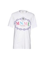 Mnml Couture T Shirts White