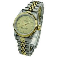 Rolex Lady Oyster Perpetual Steel And Gold 67193