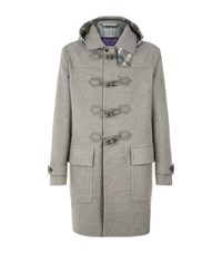 Ralph Lauren Lothbury Wool Duffle Coat Grey