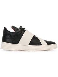 Filling Pieces Lace Up Strappy Sneakers Black