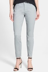 Nydj 'Clarissa' Colored Stretch Skinny Ankle Jeans Petite Gray