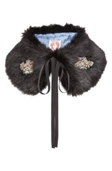 Shrimps Women's Lucy Faux Fur Collar