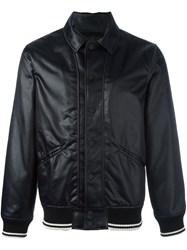 Ports 1961 'Follow Me' Bomber Jacket Black