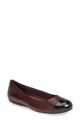 Softwalk 'Napa' Flat Oxblood