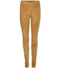 Stouls Carolyn Suede Leggings Beige