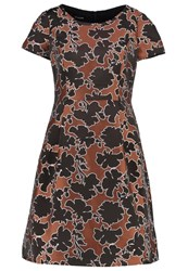 Taifun Cocktail Dress Party Dress Zimt Brown