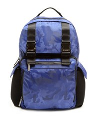 2Xist Patterned Backpack Blue