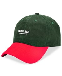 Young And Reckless Classic Colorblocked Embroidered Logo Hat Multi