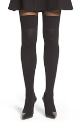 Women's Pretty Polly 'Secret Socks' Cable Knit Tights
