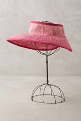 Anthropologie Ombre Wrapped Visor Pink