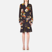 Gestuz Women's Cally Long Sleeve Dress Multi Colour Flower