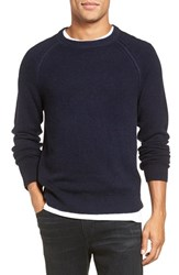Vince Men's Wool And Cashmere Raglan Crewneck Sweater