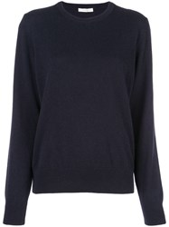 The Row Crew Neck Sweatshirt Blue