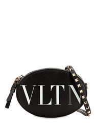 Valentino Garavani Vltn Leather Bag Black