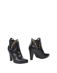 Sgn Giancarlo Paoli Footwear Ankle Boots Women Black