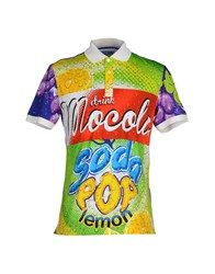 Moschino Couture Topwear Polo Shirts Men Acid Green