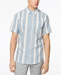 Ezekiel Men's Parker Striped Shirt Blue