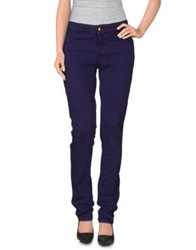 Emporio Armani Denim Pants Purple