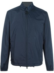 Z Zegna Light Shell Jacket Blue